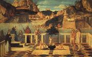 Giovanni Bellini Sacred Allegory oil painting artist